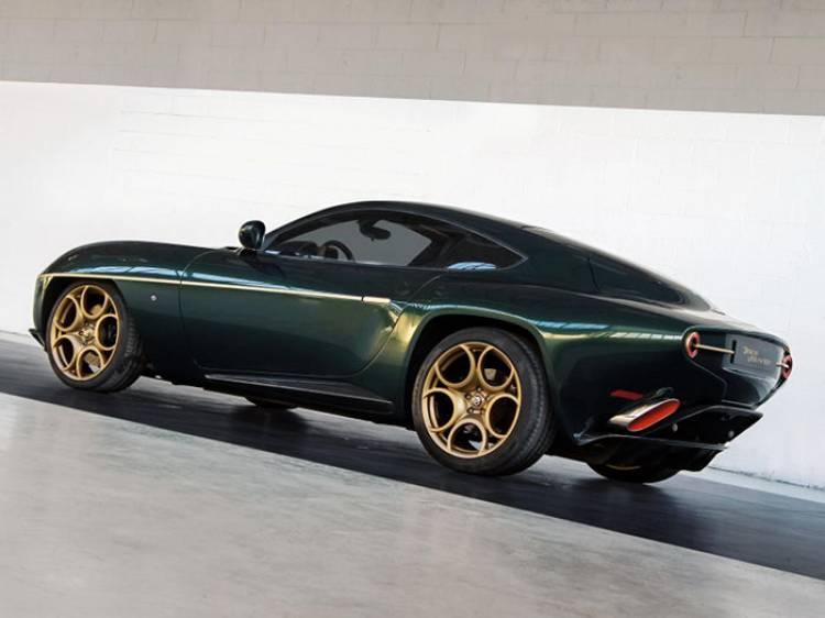 El Touring Superleggera Disco Volante se viste de verde para Ginebra