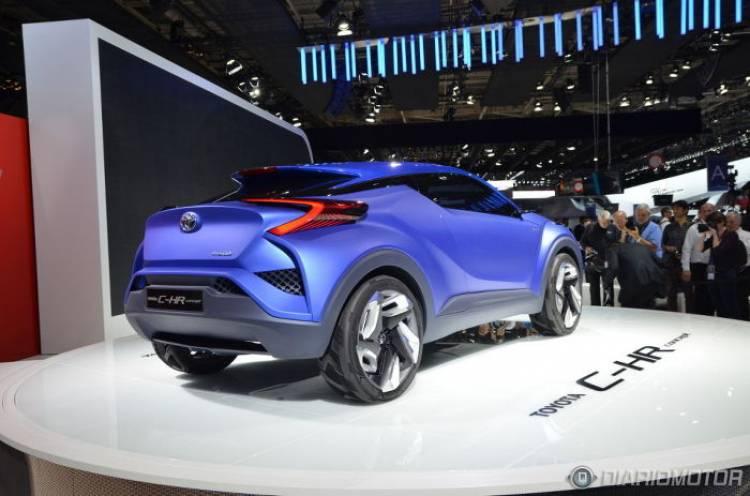 Toyota C-HR Concept: desde París, los primeros pasos de un nuevo SUV compacto