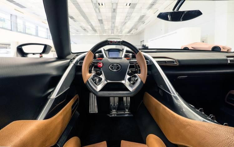 Toyota FT-1 y FT-1 Vision GT