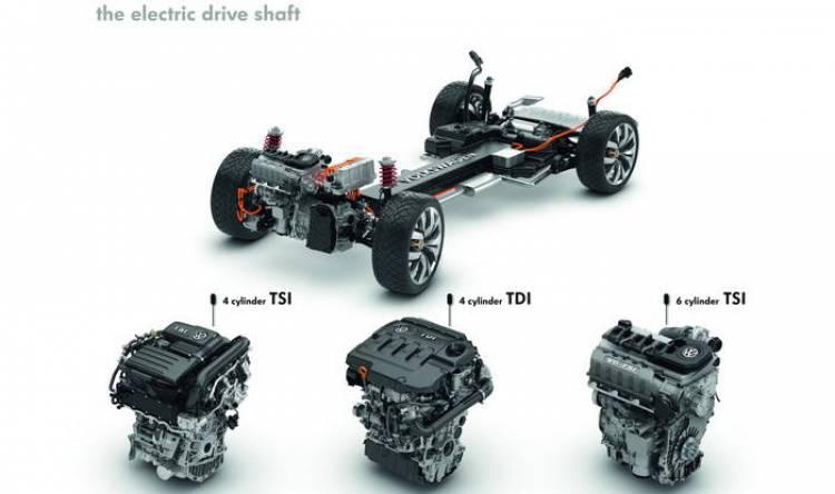La propulsión híbrida enchufable habla de diseño modular en Volkswagen