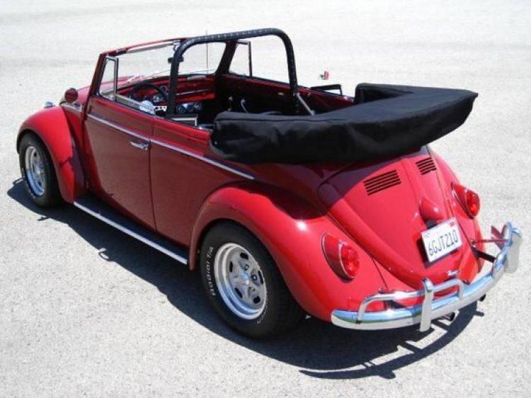 El Volkswagen Beetle de Paul Newman