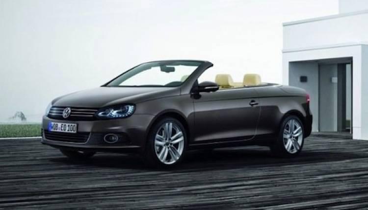 Nuevo Volkswagen Eos, actualizado ligeramente