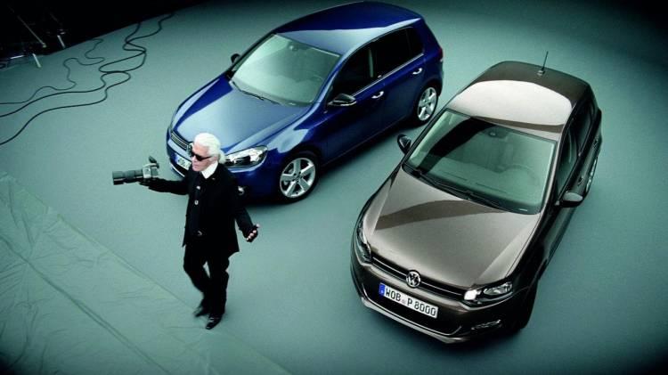 VW Polo y Golf Style, apadrinados por Karl Lagerfeld