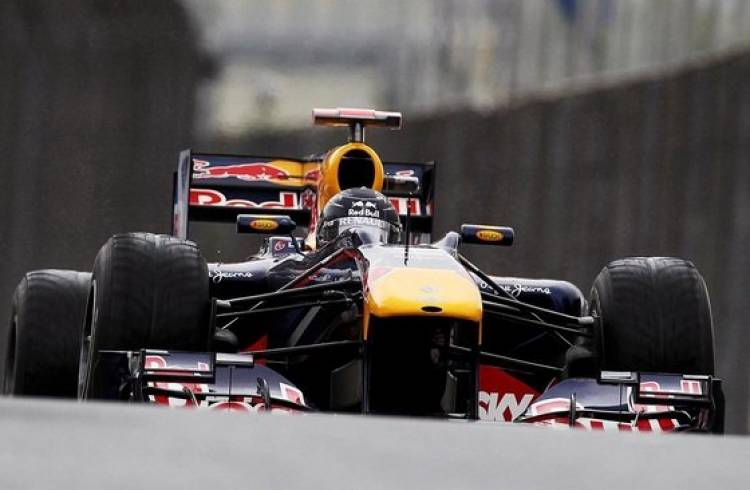 Calificación GP Brasil 2010: Sebastian Vettel (Red Bull)
