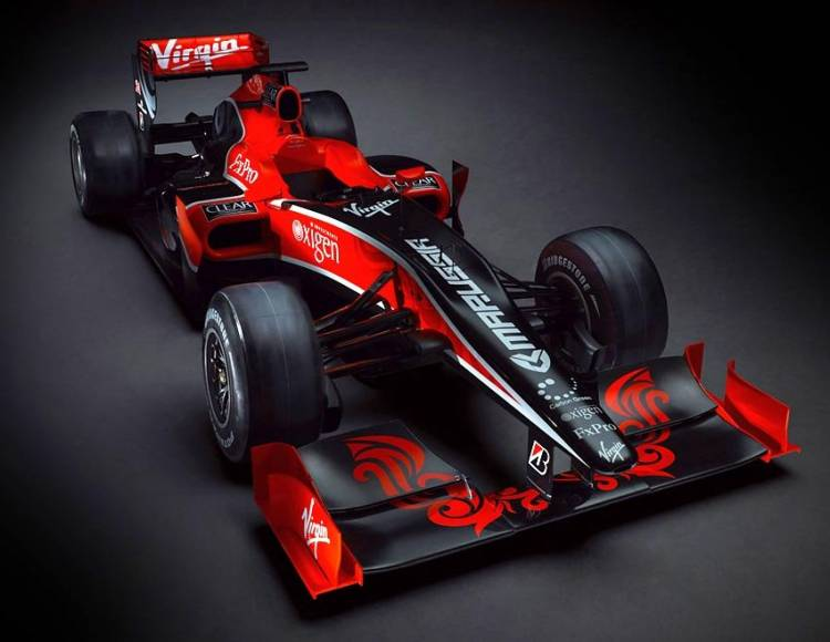Virgin Racing VR01 2010