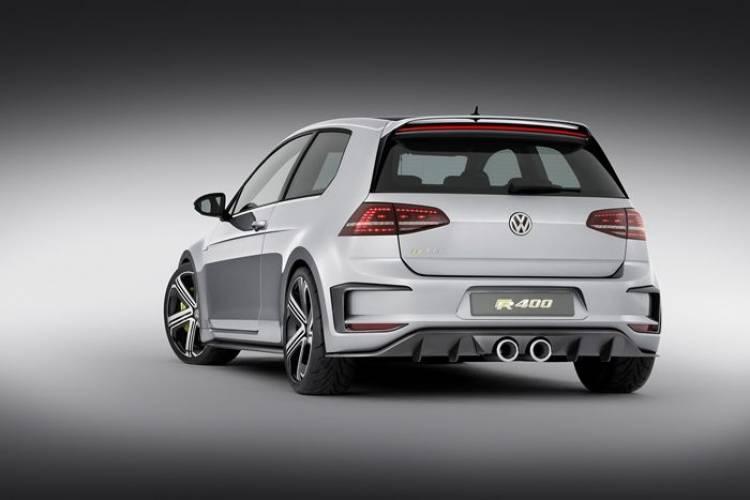 Parece que tendremos un Volkswagen Golf R400 de producción