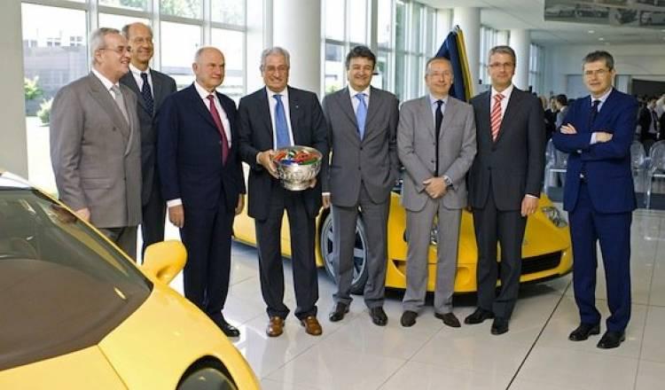 Volkswagen compra Italdesign Giugiaro (imagen de archivo)