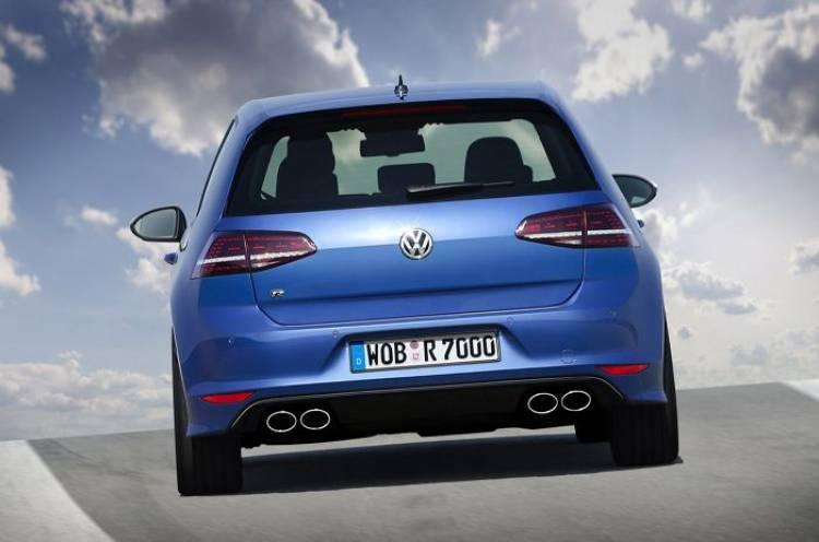 Volkswagen Golf R , aparentemente también en formato familiar