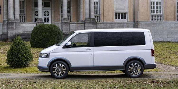 Volkswagen Multivan Alltrack concept: la T5 lista para el campo
