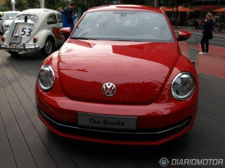 Nuevo Volkswagen Beetle, presentación y toma de contacto en Berlín