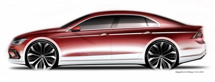 Volkswagen: un coupé de tamaño medio listo para debutar en el Salón de Pekín