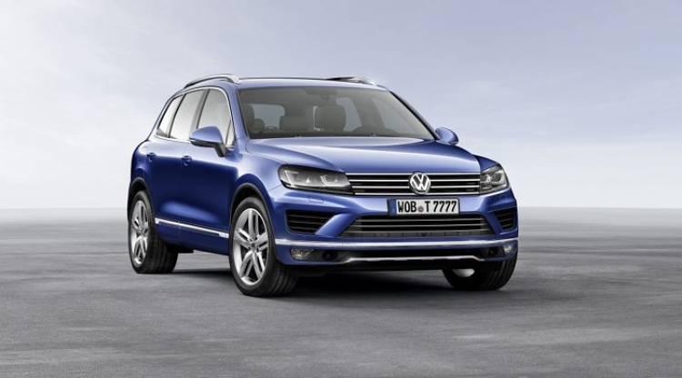 Volkswagen Touareg: nuevo lavado de cara para el gran SUV de Volkswagen