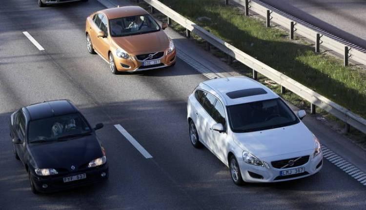 Jornadas de conducción segura Volvo 2013 en el Jarama