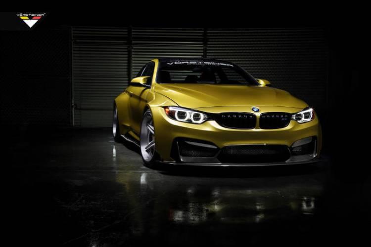 GTRS4 BMW M4 por Vorsteiner: reinterpretando al M4 a golpe de fibra de carbono