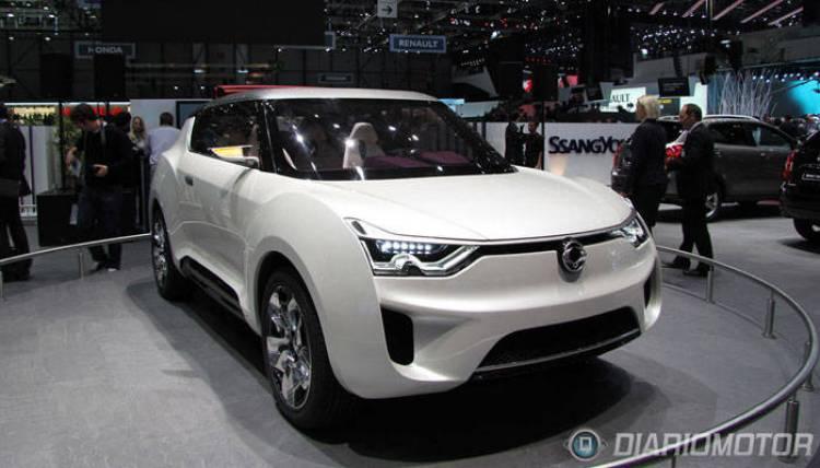 Ssangyong XIV-2 Concept en Ginebra