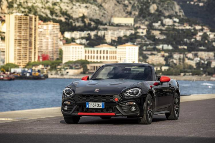 Abarth 124 Spider 70th Anniversary 4