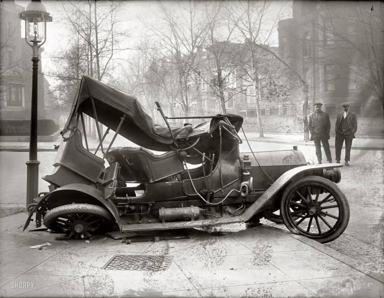 Un accidente de hace 93 años