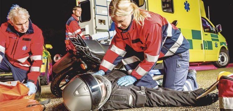 Accidente Moto Atencion 112