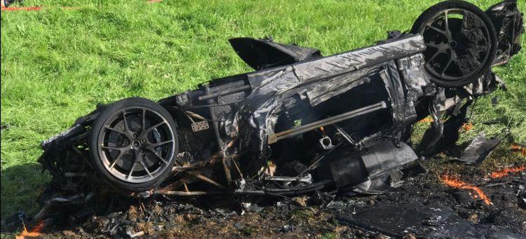 Accidente Trafico Coche Richard Hammond