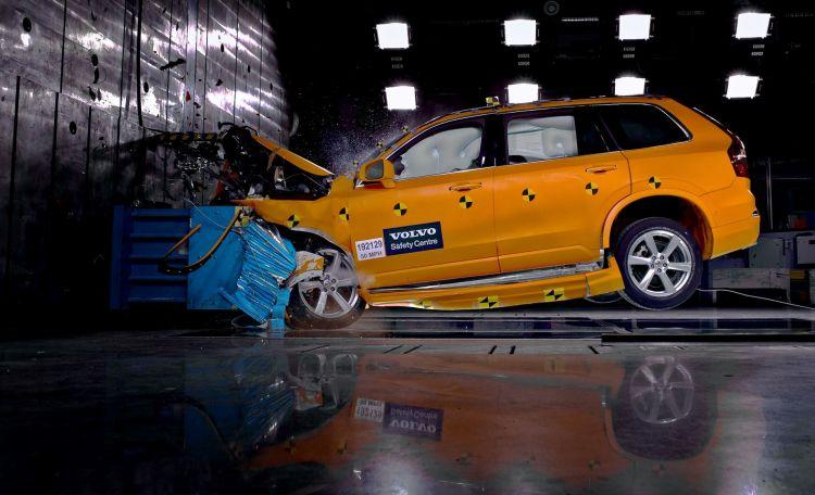 Accidente Trafico Volvo Crash Test