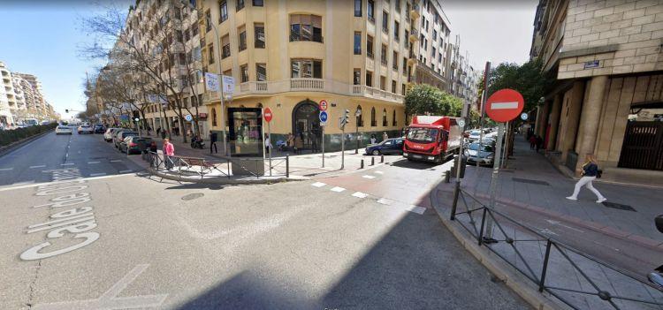 Acera Bici Madrid Cruce