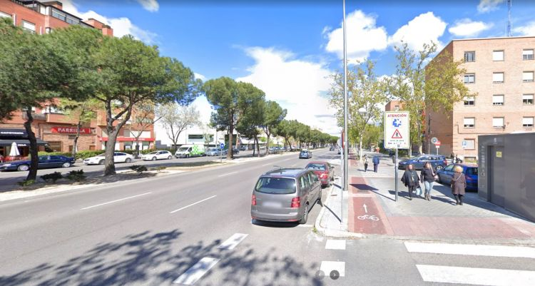 Acera Bici Madrid Sentido Unico