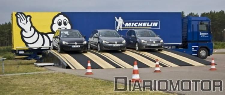 Pruebas neumáticos Michelin en Berlin