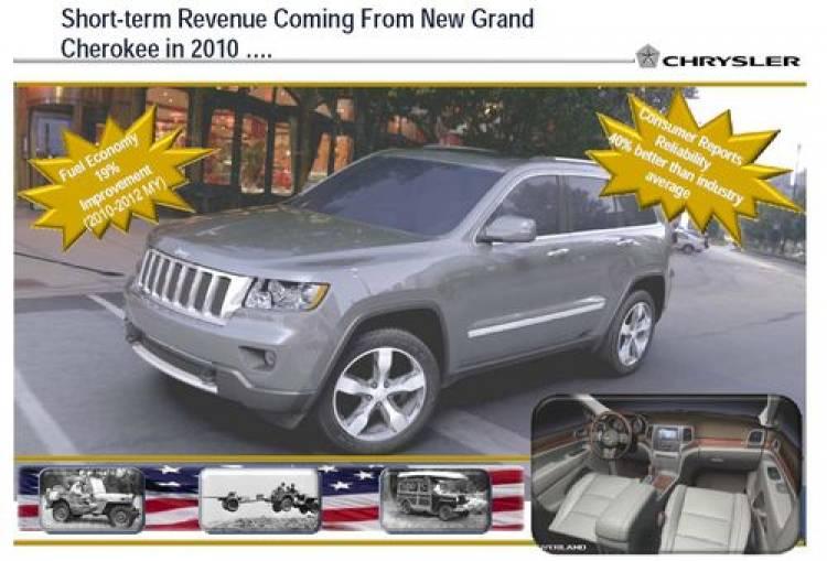 Adelanto Jeep Grand Cherokee y Chrysler 300C 2010