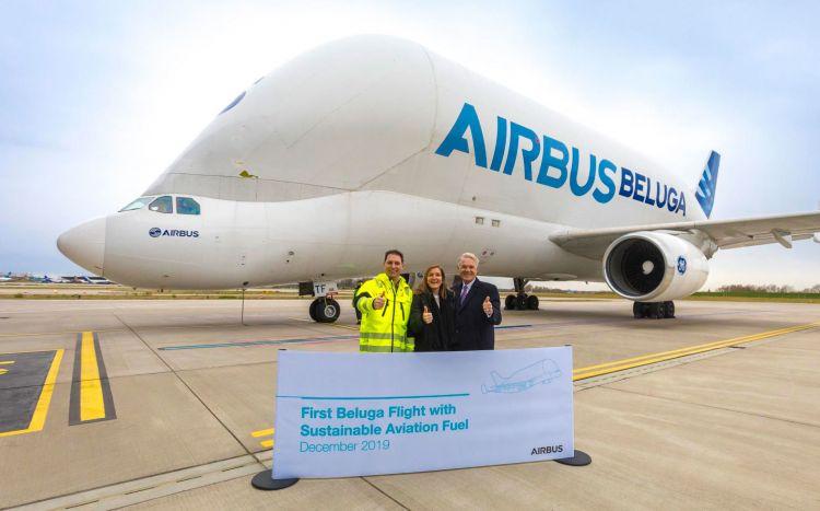 Airbus Beluga Combustible Aviacion Sostenible