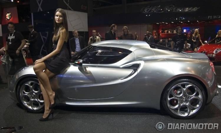 Alfa Romeo 4C en Frankfurt