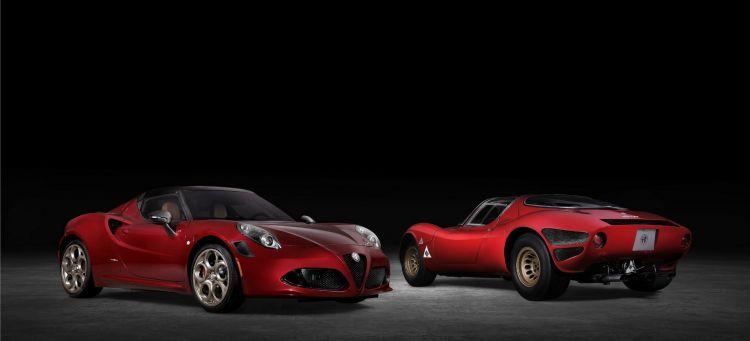Alfa Romeo 4c 33 Stradale Portada