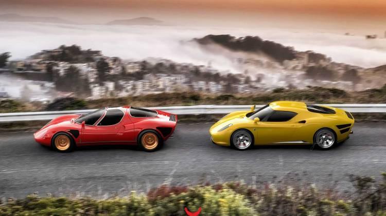 Alfa Romeo 4c Coche Clasico Dm 14