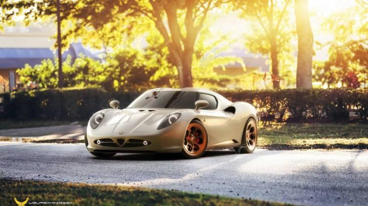 Alfa Romeo 4c Coche Clasico Dm 6