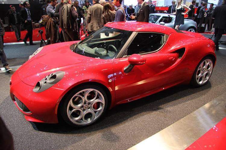 Alfa Romeo 4C en el Salón de Ginebra