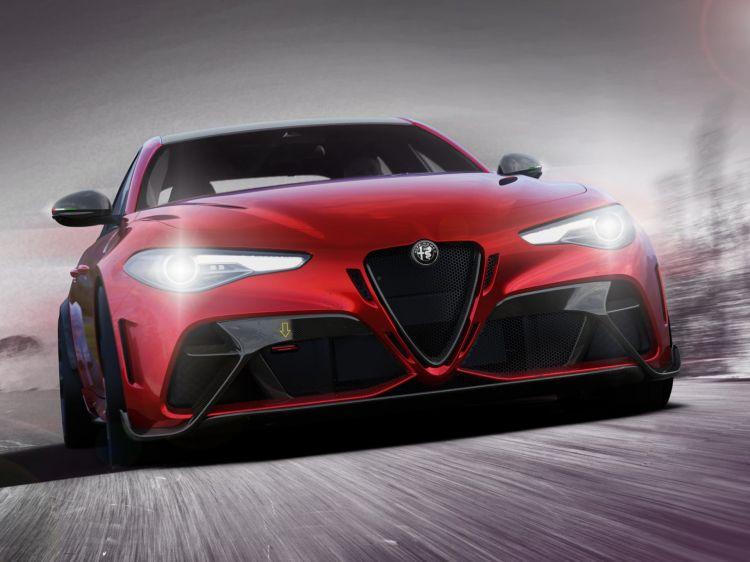 Alfa Romeo Giulia Gta 2020 Dm Gtam Track 02
