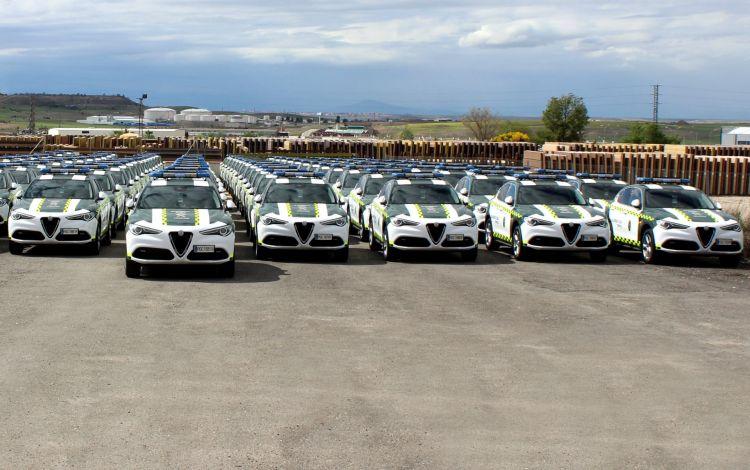 Alfa Romeo Stelvio Guardia Civil 3