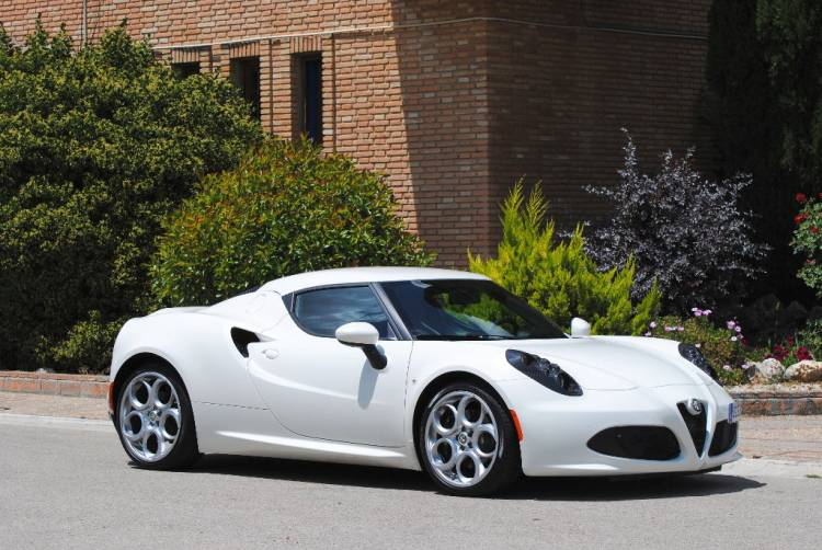 Imagen exterior del Alfa Romeo 4C