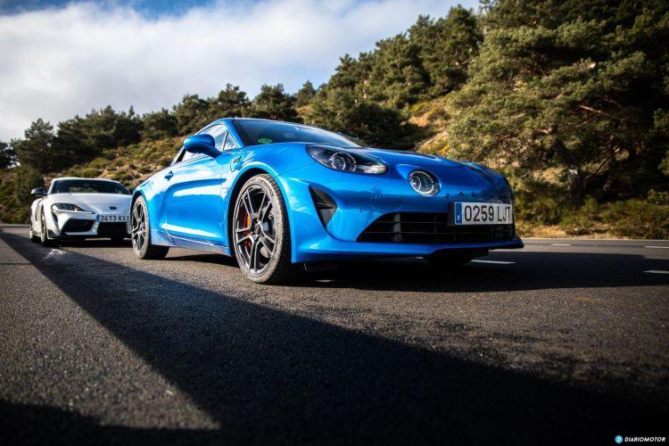 Alpine A110s Vs Toyota Supra 14