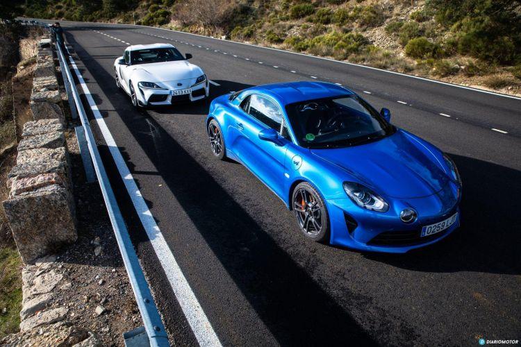 Alpine A110s Vs Toyota Supra 16