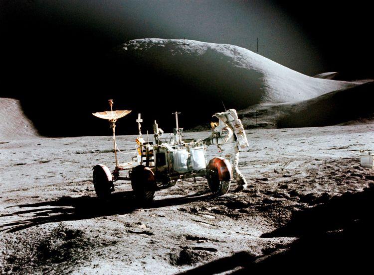 Apollo 15 Rover Lunar