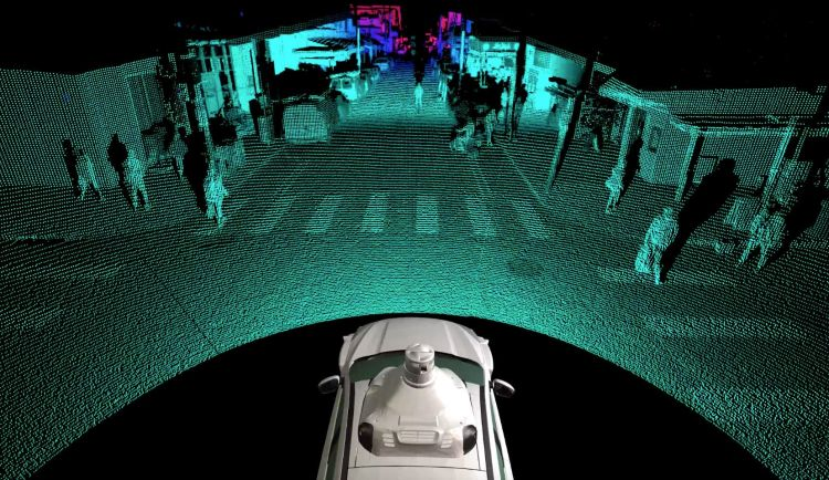 Argo Lidar Volkswagen Autonomous