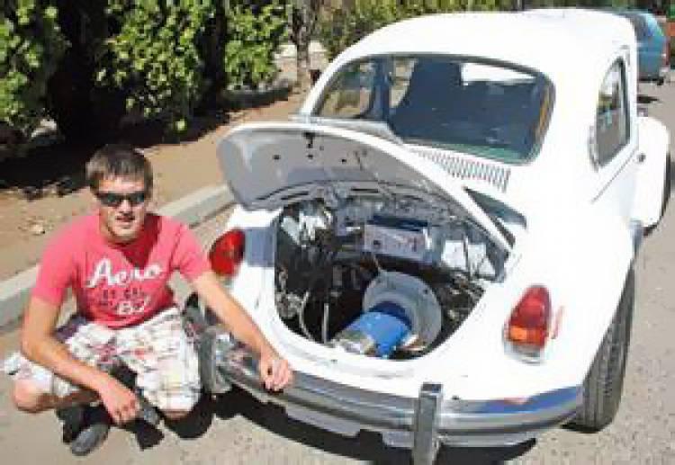 Volkswagen Beetle eléctrico 1972