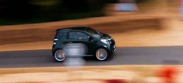 Aston Cygnet V8 Video