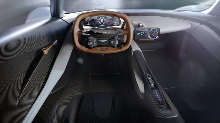 Aston Martin Coche Deportivo Hibrido Am Rb 003 10