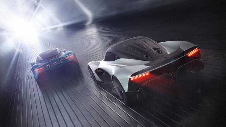 Aston Martin Coche Deportivo Hibrido Am Rb 003 Vanquish Vision Concept 02