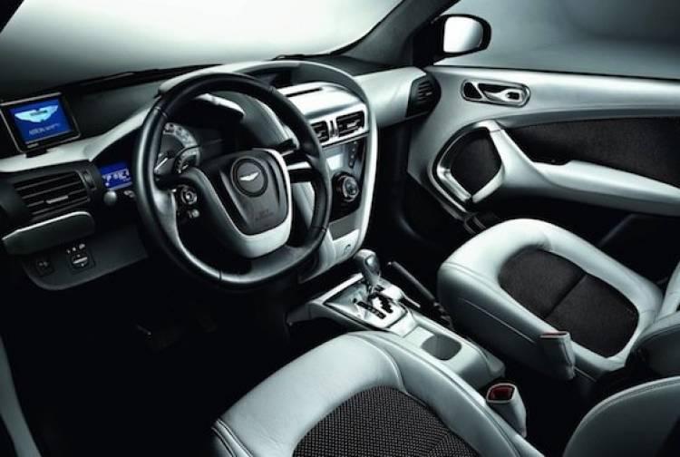 Aston Martin Cygnet White Editions