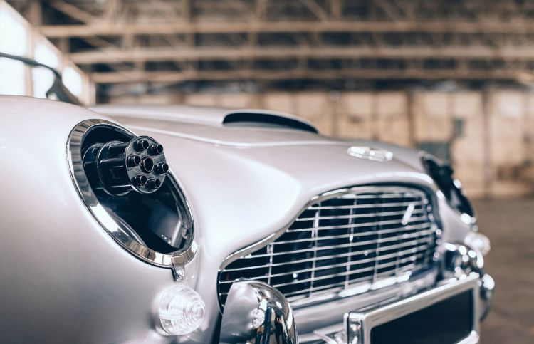 Aston Martin Db5 Junior 007 2