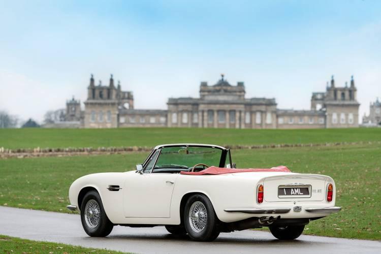 Aston Martin Db6 Volante 1970 Coche Electrico 01