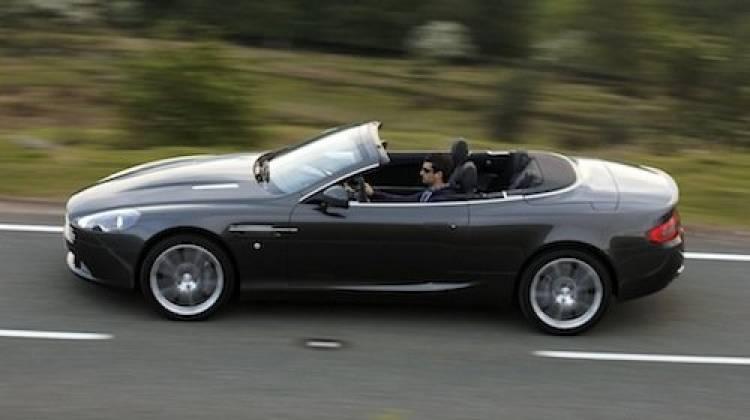 Aston Martin DB9 Volante 2011