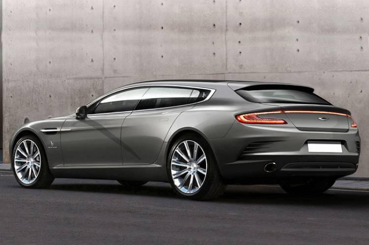 ¿Y si se hiciera realidad la idea de un Aston Martin Rapide familiar?